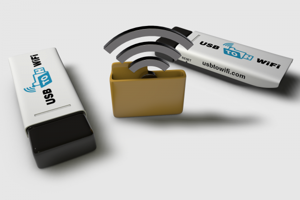Wireless USB Data Stick - USB to WiFi
