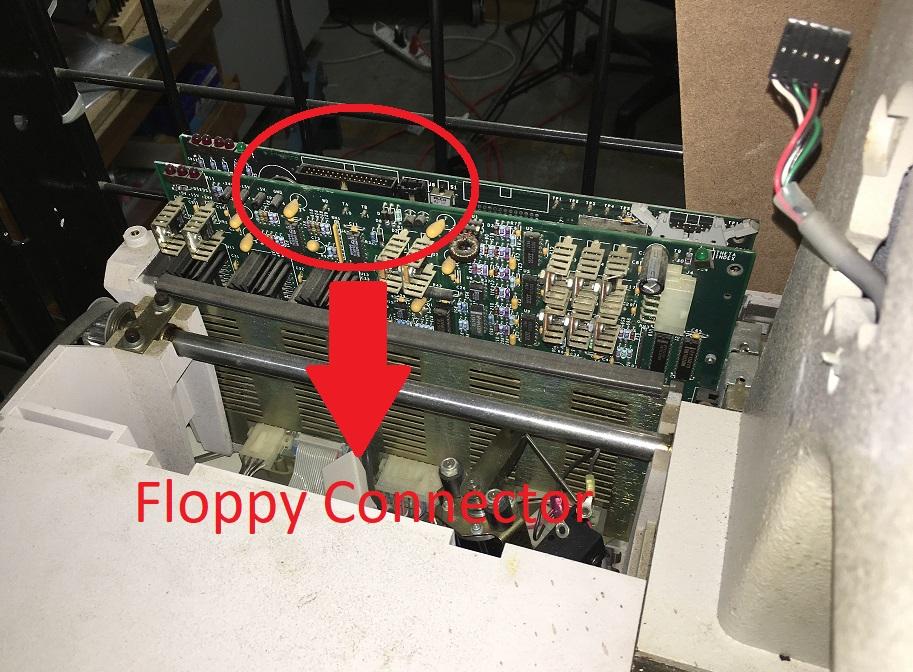 Melco Floppy Connector